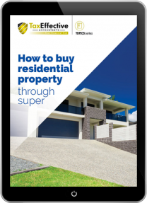 How to buy residential property through super